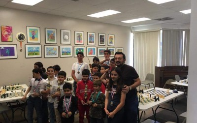 Recap: April 2 AMFA Chess Tournament
