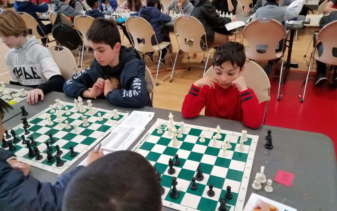 """Master Training"" Series #9 Chess Tournament"